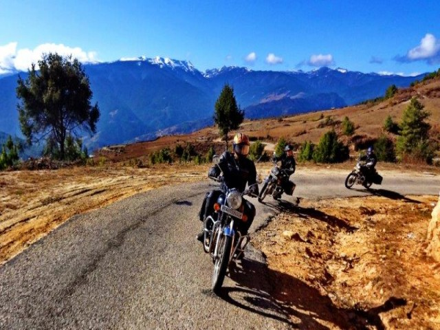 10 Days motor cycle tour in Bhutan