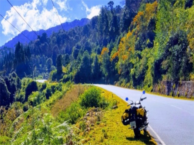 5 Days motor cycle tour in Bhutan